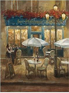 Trademark Fine Art Paris Cafe I by Danhui NAI, 18x24