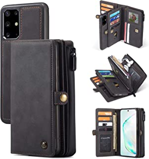 Wallet Case Galaxy S20/ S20+/ S20 Ultra [2 in 1] Magnetic Detachable Leather Folio Card Pockets Clutch Case Flip Cover