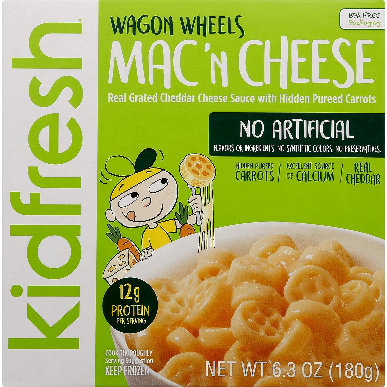 Kidfresh Wagon Ranking TOP3 Wheels Mac 'n Cheese Sale Of Ounce 6.3 pack 8