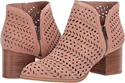 Ginger Perforated Suede
