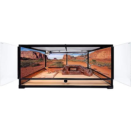 Carolina Custom Cages Terrarium, Large Deep 36Lx24Dx18H; Easy Assembly
