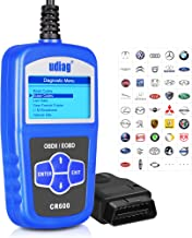 OBD2 Scanner OBD Car Diagnostic Tool Code Reader Obdii Scanners Universal Cars Code Reader Scan Directly Check Engine Light MIL Error Meaning Read Erase Fault Codes Identify Vehicle I/M VIN CID CVN