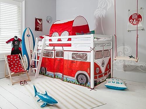 edición limitada en caliente Cama alta con Diseño Diseño Diseño de caravana y túnel.  envío gratis