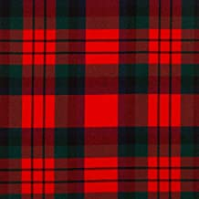 iLuv 13oz Medium Fabric Macduff Modern Tartan 1 Metre