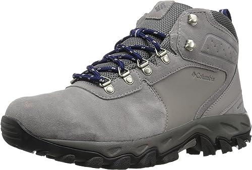 Columbia Men's Newton Ridge Plus II Suede Waterproof Hiking schuhe, ti Titanium, Cousteau, 9 Regular US