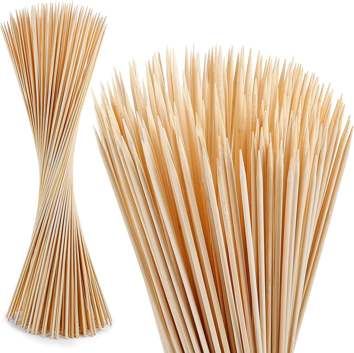 120 PCS Bamboo Marshmallow Roasting SMores Sticks Skewers for Limited time sale F excellence