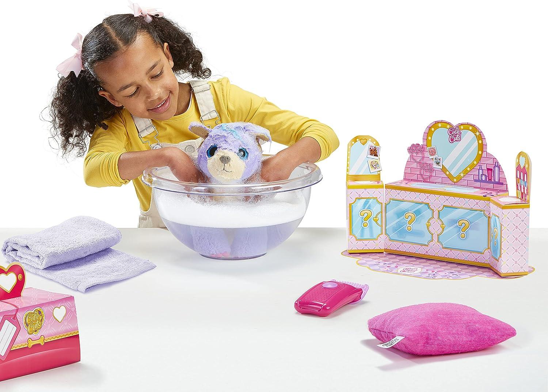 Scruff-A-Luvs Cutie Cuts - Girl giving a bath to the pup
