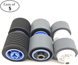 $196 » Case of 5 Packs,OKLILI 8262B001AA 8262B001 Scanner Exchange Roller Kit Compatible with Canon DR-G1100 DR-G1130 1100 1130