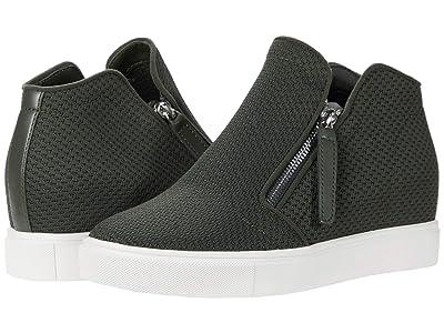 Steve Madden Click Wedge Sneaker (Olive) Women