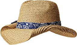 San Diego Hat Company - PBC2451 Paper Cowboy w/ Bandana Print Band
