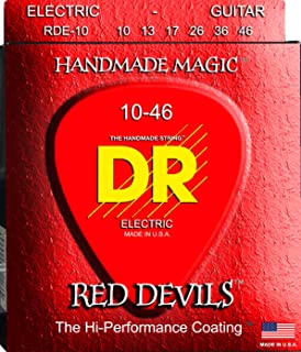 DR Strings Red Devils - Extra-Life Red Coated Electric 10-46