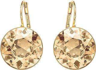Swarovski Women's Brown Gold-tone plated Brown Bella Pierced Earrings 901640