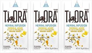 Ti Ora Herbal Infusion Camomile Lemon, Kräutertee, Kräuter Tee, 45 Teebeutel, á 1.25 g