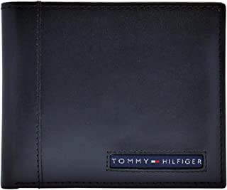 Tommy Hilfiger RFID Blocking Leather Cambridge Passcase Black Men's Wallet