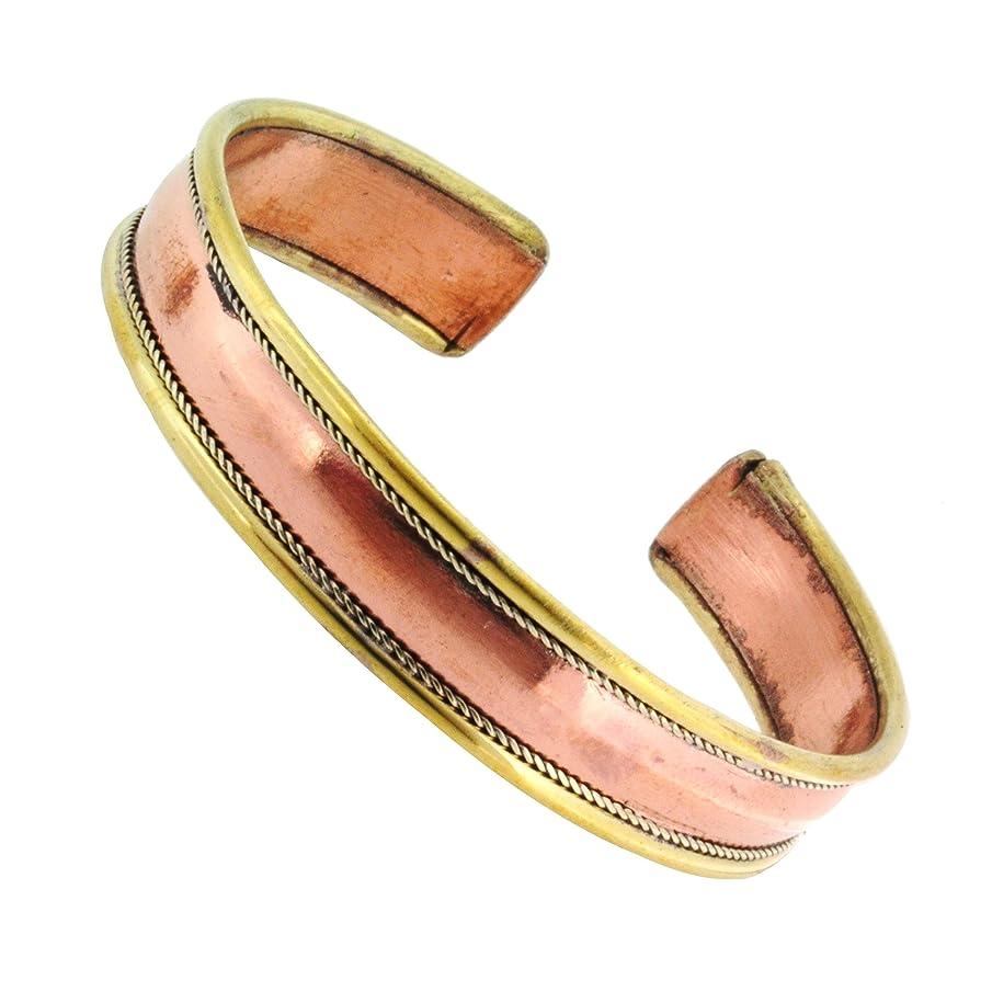 Tibetan Buddhist Om Mantra Yoga Meditation 7 Chakra Copper Healing Cuff Wrist Bracelet for Men Women