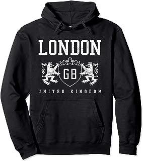 London Hoodie Pullover - UK GB United Kingdom England Gift