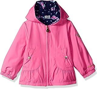London Fog Baby Girls Reversible Sensible & Soft Jacket Coat