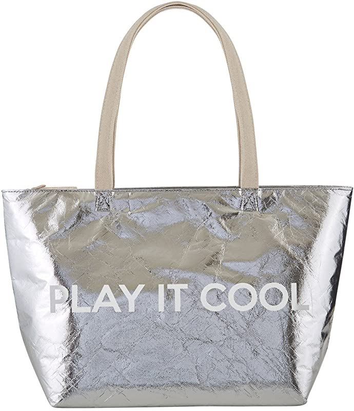 Hold Everything Large Insulated Metallic Cooler Bags 18 Inch