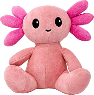 "Axol The Axolotl - 8"" Plush Stuffed Animal, Portion of Every Sale Donated"