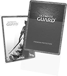Ultimate Guard Katana Standard Size Sleeves 100-Pieces, Transparent