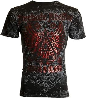 Affliction Archaic Short Sleeve T-Shirt Mens Achilles Black
