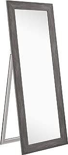 Naomi Home Freestanding Cheval Floor Mirror Gray