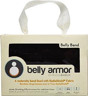 belly armor ベリィアモール Belly Band 電磁波対策 ベリィ?バンド XS/S:腹囲61-76cm/腰囲71-86cm 黒 本体 95%綿 5%ポリウレタン 別布 金属繊維(銀繊維) 54% ポリエステル46% BBA