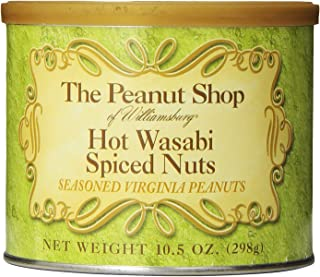 The Peanut Shop of Williamsburg Wasabi Spiced Peanuts, 10.5 Ounce
