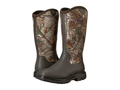 Ariat Conquest Rubber Insulated (Dark Brown/Realtree Xtra) Men