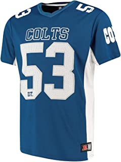 Majestic Athletic Indianapolis Colts NFL Moro Poly Mesh Jersey tee T-Shirt Trikot
