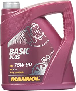 MANNOL Basic Plus 75W 90 API GL 4+, 4 Liter