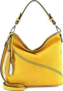SURI FREY Beutel Tilly 12722 Damen Handtaschen Uni yellow 460 One Size