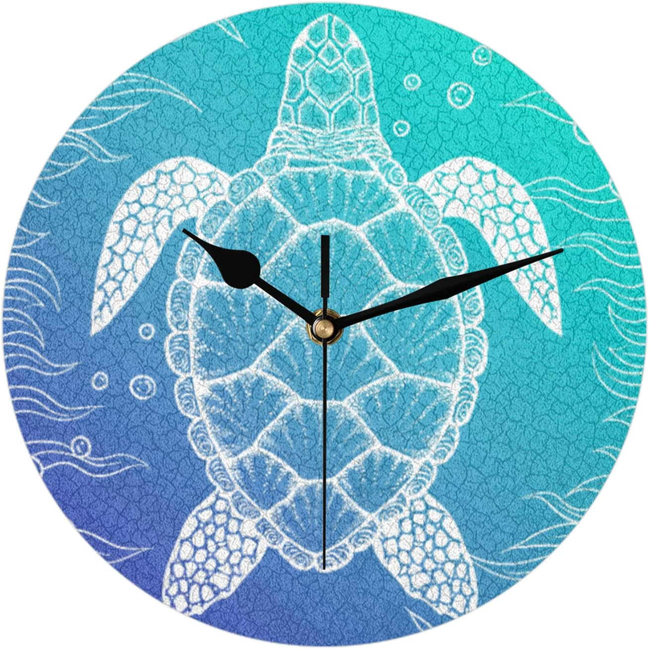 All stores are sold Turtle ound Wall Clock Decorative Home Living Room Kitchen Our shop most popular for