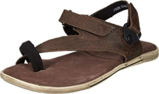 Woodland Men's Gd 1143112y15_Dirty Brown_8 Leather Outdoor Sandals-8 UK (42 EU) (9 US) 1143112Y15DIRTY