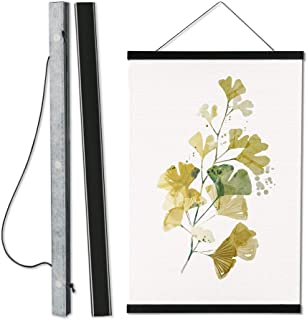 Magnetic Poster FrameHanger,Magnet Poster Hanger for Posters, Kids Paintings, Photos, Maps, Scrolls, Picture, CanvasArt...