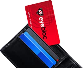 4 RFID Blocking Cards from Eyebloc - Credit & Debit Card Protector