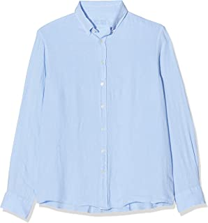 Hackett London Garment Dye Ln BS Camisa para Hombre