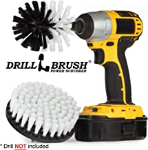 Drill Brush - Boat Accessories - Cleaning Supplies - Rotary Cleaning Brushes Boats And Watercraft - Kayak - Raft - Jet Ski - Canoe - Inflatable - Hull Cleaner - Algae - Moss, Scum, Barnacle, Oxidation