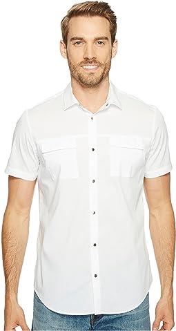 Calvin Klein - Stretch Poplin Button Down Shirt