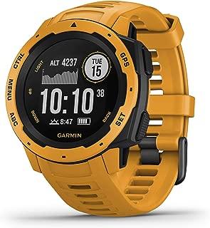 Garmin Instinct Sunburst Rubber Smart Watch (Yellow)
