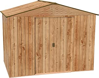 Caseta metálica Artemisa de Duramax, *Imitación madera de máxima calidad.