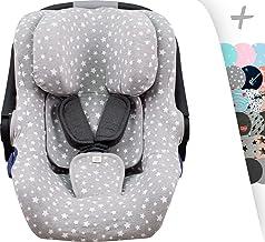 JANABEBE Funda para Concord Neo Air Safe, Romer baby Safe y Jané Koos I-size (White Star)