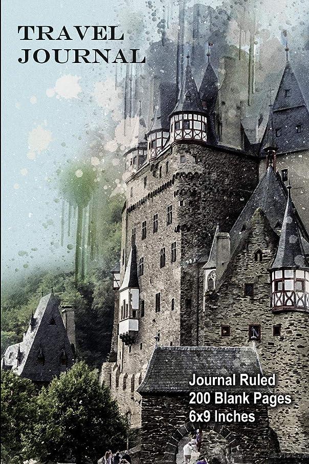 正当なあいまいのヒープTravel Journal (German Castle): Journal Ruled - 200 Blank Pages - 6x9 Inches