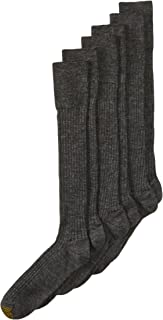 Gold Toe Men's Windsor Wool Over the Calf Dress Sock