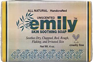 Emily, Skin Soothing Soap Unscented, 4 Ounce