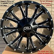 Cali 4 Off-Road Americana 20x12 5x5-44mm Black/Milled Wheels Rims 20