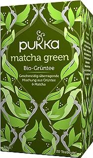 Pukka Bio-Tee Matcha Green 80 Teebeutel, 4er Pack 4 x 20 beutel