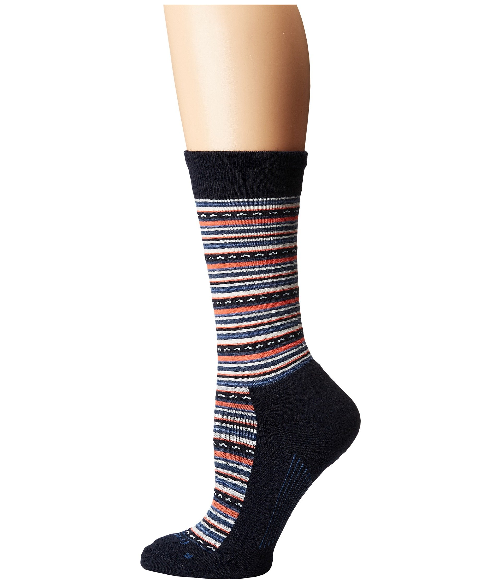 Navy Sock Crew Cushion Horizon Feetures w6qfI6