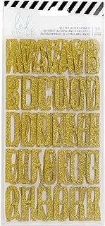 American Crafts 313657 Heidi Swapp Magnolia Jane Cardstock Sticker Sheets, 4.25x8, 3 Pack, Gold Foil