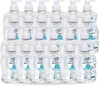 Bio Schutz Anti-bacterial Instant Hand Sanitizer 500ml - Pack of 24 | Hand Sanitizer Gel-Fragrance Free Hand Sanitizer wit...